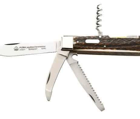 308311 Puma Jagd-Taschenmesser, 4 Klingen