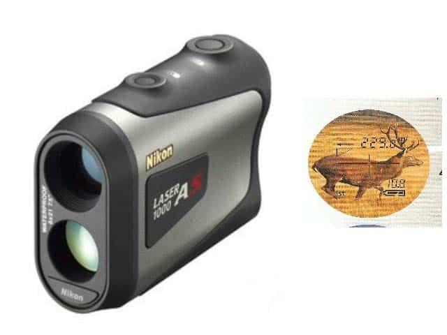 Nikon laser entfernungsmesser 1000a s für jagd und golf mit