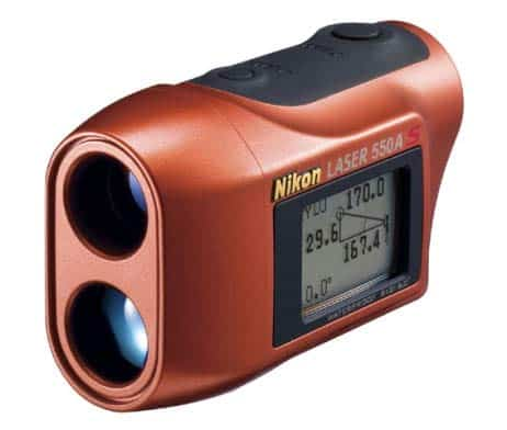Nikon Laser Distanzmesser 550A S - Golf Jagd, wasserdicht, Display - 018208086702