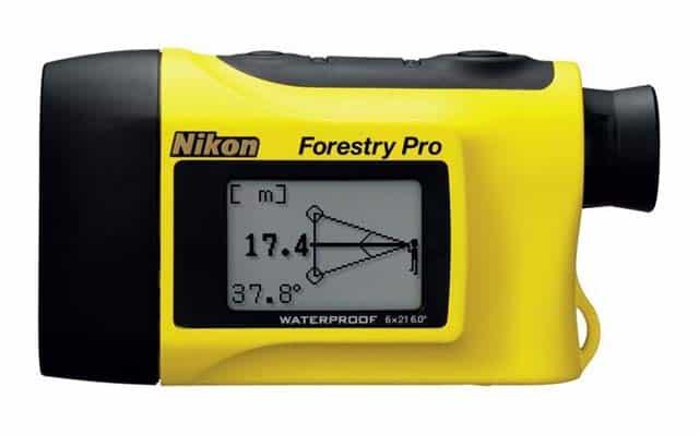 Laser Entfernungsmesser Neigungsmessung : Nikon laser entfernungsmesser forestry pro für jagd und golf