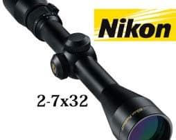 Nikon Zielfernrohr Prostaff 2-7x32 M NP Absehen Duplex Wasserdicht - 018208067190  a