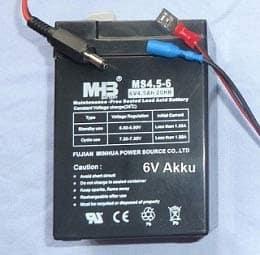 6v-Akku-und-Kabel-Ltl-Acorn-5210MM-A-MC-6210MM-MCNEW