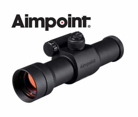 Aimpoint Leuchtpunktvisier 9000SC 2 - 4 MOA Absehen - 11417