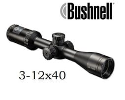 Bushnell Zielfernrohr Optics 3-12x40 AR SF, Absehen BDC mit Drop Zone-223 - AR931240