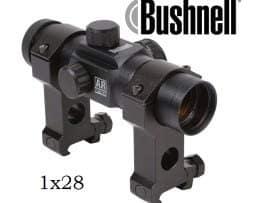 Bushnell Leuchtpunktvisier 1x28 Optics, 6 MOA Abs. inkl. Montage - AR730131C