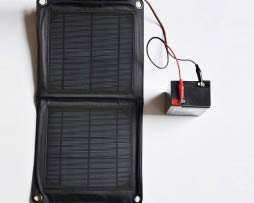 Solar panel ladegerät für 6v 12v akku batterie wildkameras fotofallen