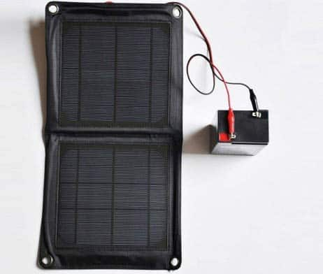 Solar Panel Ladegerät Charger für 6V 12V Akkus Batterien Wildkameras Futterautomaten 222 -  640p