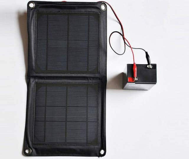 solar panel ladeger t f r 6v 12v akku batterie wildkameras fotofallen. Black Bedroom Furniture Sets. Home Design Ideas