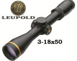 Leupold Zielfernrohr VX-6 3-18x50 Firedot 4 Duplex beleuchtet Absehen CDS - 115198, 115007