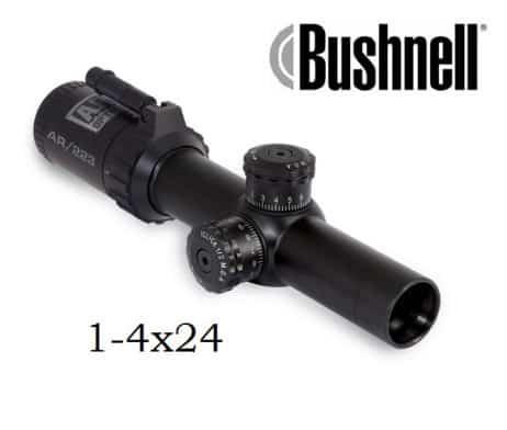 Bushnell AR Zielfernrohr 1-4x24 FFP, BDC bel. Absehen, Drop Zone-223 - AR91424I 640p