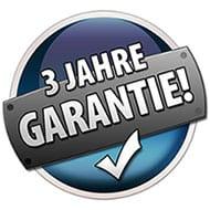 3 Jahre Garantie möglich
