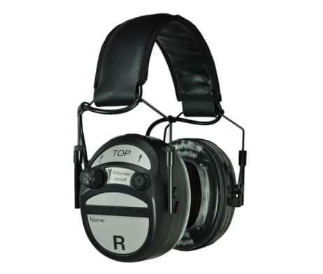 MePaBlu PROFI II professioneller Gehörschutz für Polizei, Militär und Sicherheitsdienste inkl. SoftGel-Ohrpolster