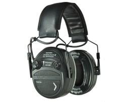 MePaBlu SILENCER Plus aktiver Gehörschutz mit 10-facher Verstärkung für Schiess-Sport