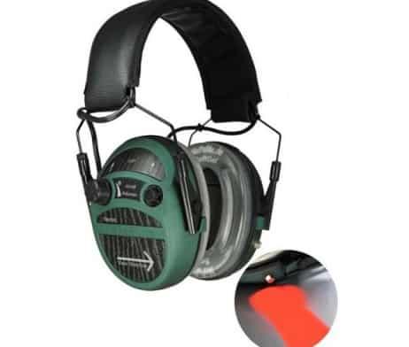 MePaBlu TARGET de Luxe mit Verstärkung 30-fach inkl. SoftGel-Ohrpolster aktiver Gehörschutz