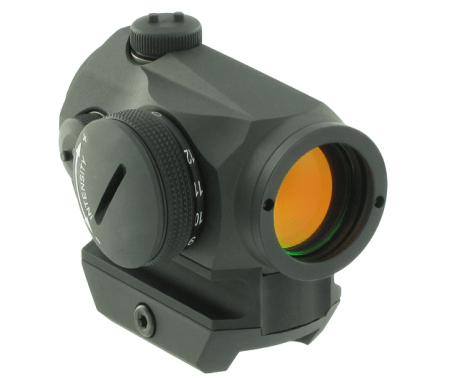 Aimpoint Rotpunktvisier Micro T-1 inkl. Picatinny Weaver Montage 2 MOA Absehen - 12417