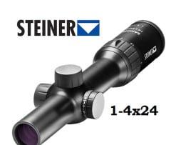 Steiner Ranger Zielfernrohr 1-4x24 mit 4A-I Absehen beleuchtet red dot 1