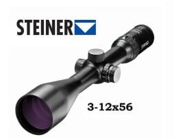 Steiner Ranger Zielfernrohr 3-12x56 mit 4A-I beleuchtet Absehen red dot 1
