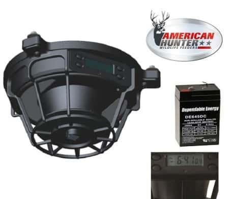 American Hunter Quick-Lock Kit Futterautomat für Wild und Pferde a
