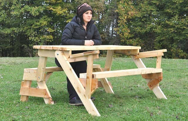 klappbare gartentisch mit holzbank sitzbank massiv ausziehbar 2 in 1 gro ebay. Black Bedroom Furniture Sets. Home Design Ideas