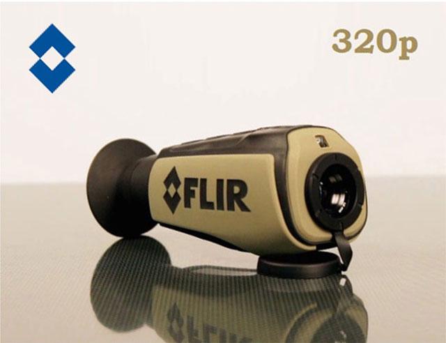 Wärmebildkamera Jagd Mit Entfernungsmesser : Flir scout iii jagd wärmebildkamera vorsatzgerät thermalkamera